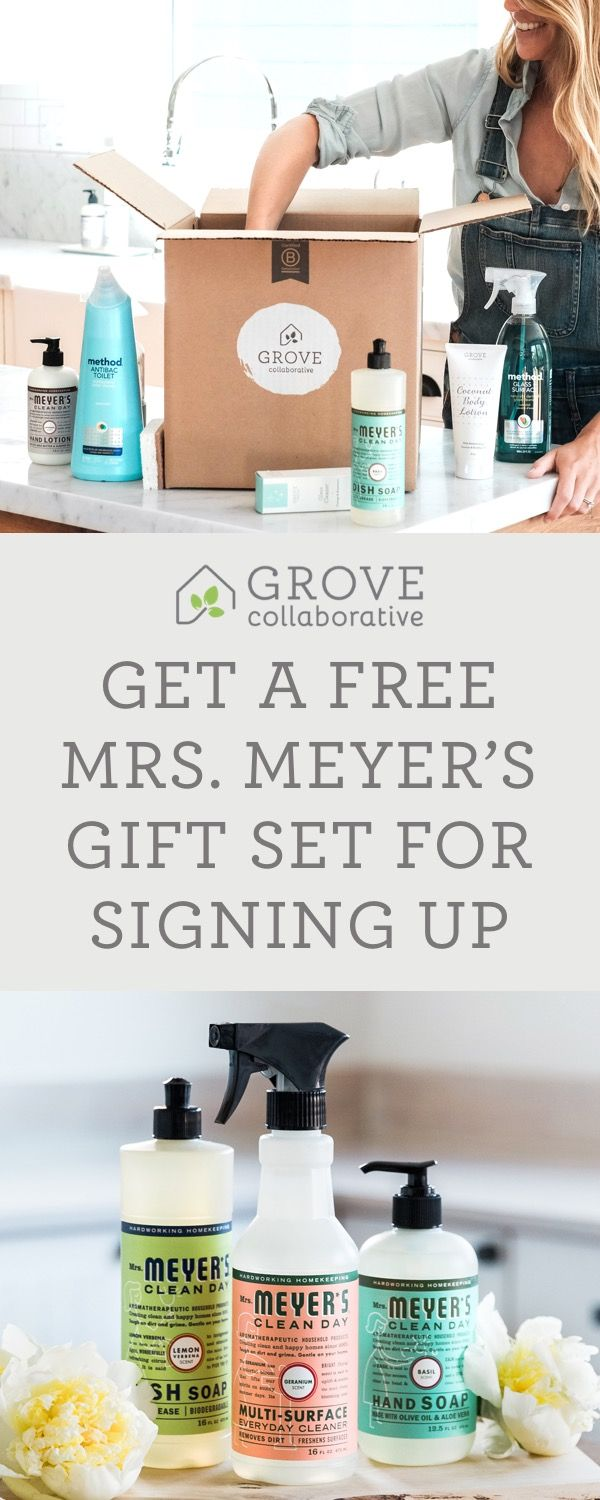 Free Mrs Meyer S Set With Your First
