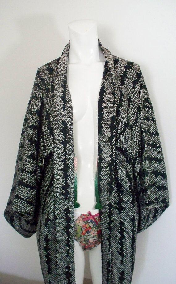 Vintage Silk Kimono by MamieXOXO on Etsy
