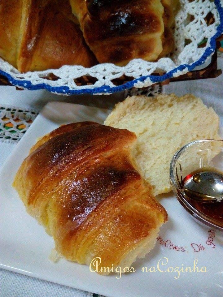 Amigos na Cozinha: Croissant light