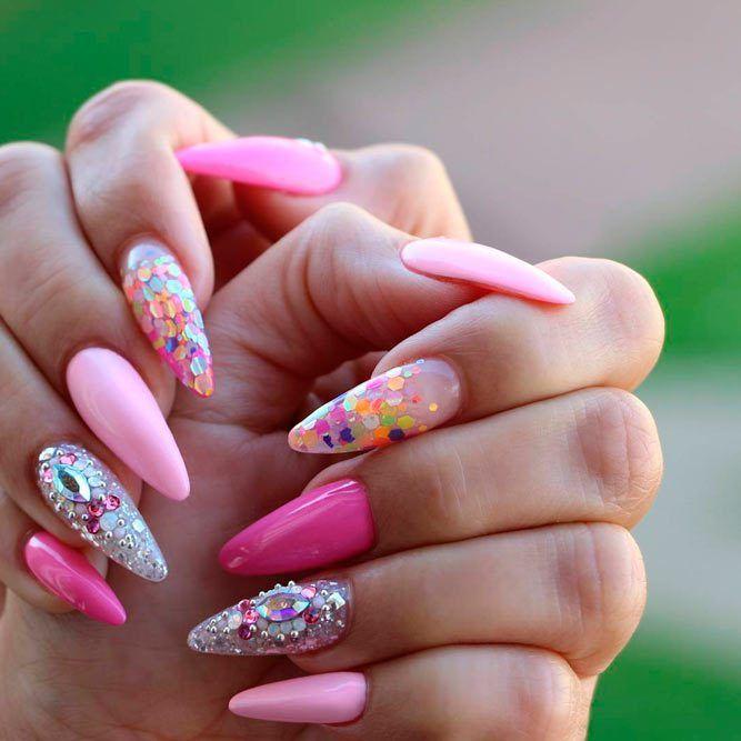 150 Trendy Acrylic Nails Designs 2018   Acrylic nail designs ...