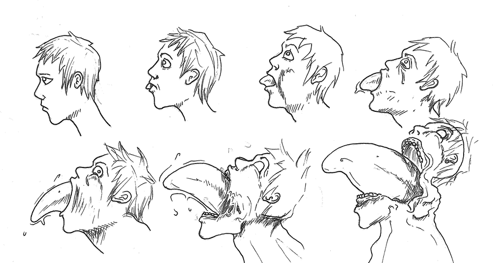 Drawing Anime Hairstyles... Anime hairstyles male, Anime