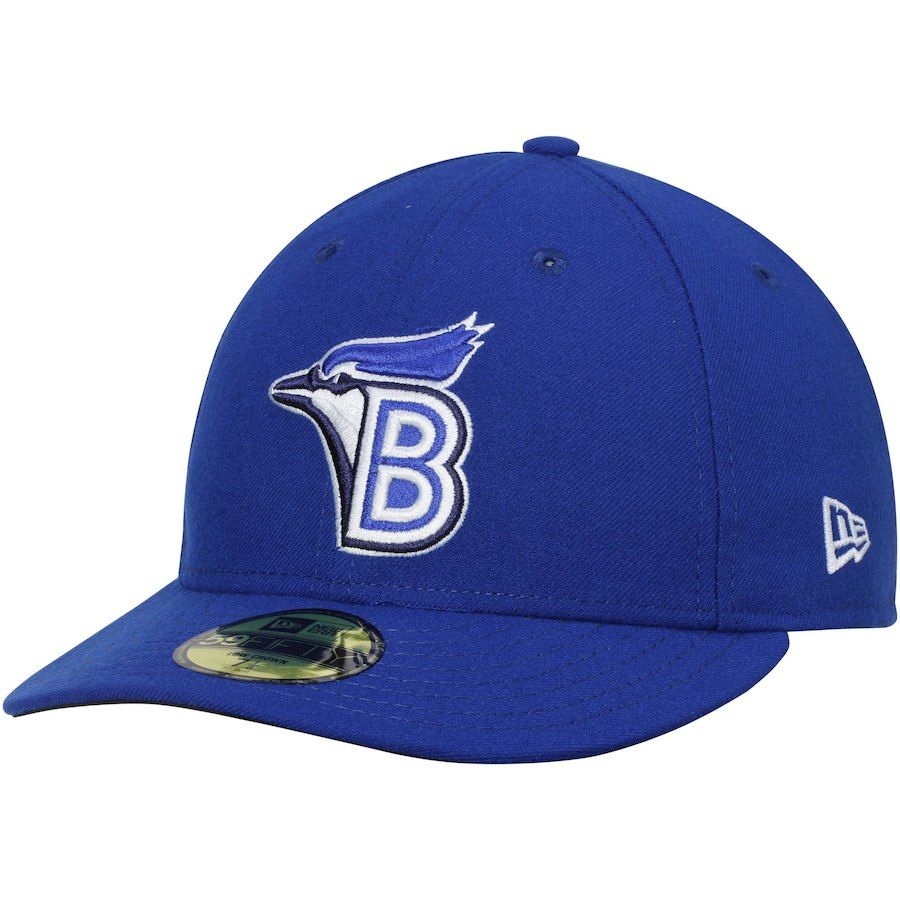 f6bf43d2380 Men s Bluefield Blue Jays New Era Royal Game Authentic Collection On-Field Low  Profile 59FIFTY