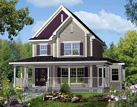 Plan 80732pm Country Home With Wrap Around Porch Porch House Plans Country Style House Plans Metal House Plans