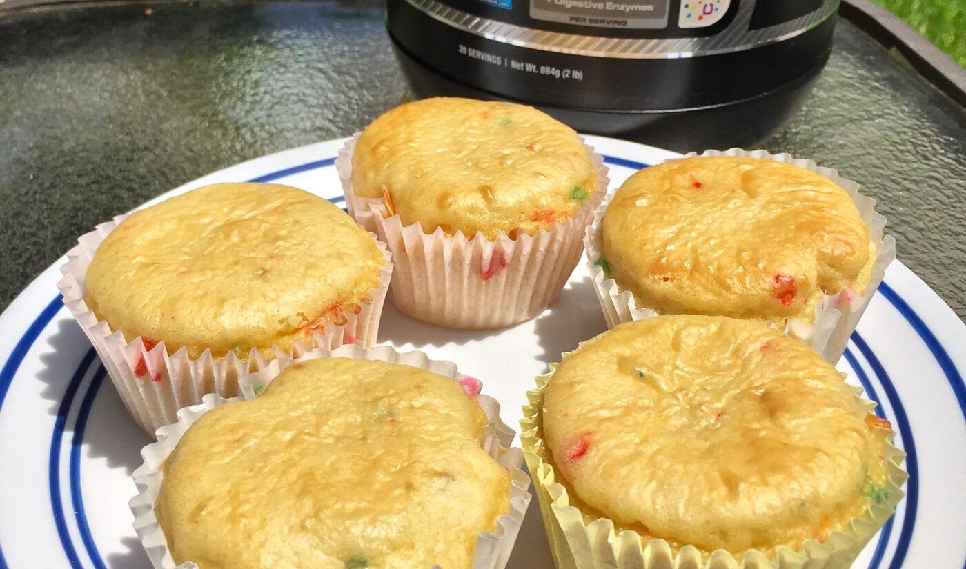 Cellucor Cor Fetti Cake Batter Cupcakes Iifym Pinterest Cake