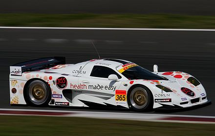 The Mosler Mt900m Gt300 Car At The 2010 Fuji Gt 400km Gt Cars