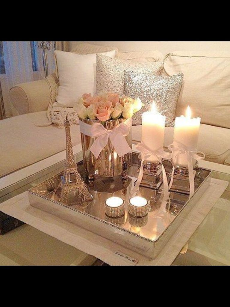 Tray Table Decor Ideas Gorgeous Living Room Table Idea  Home & Living  Pinterest  Living Room Decorating Inspiration