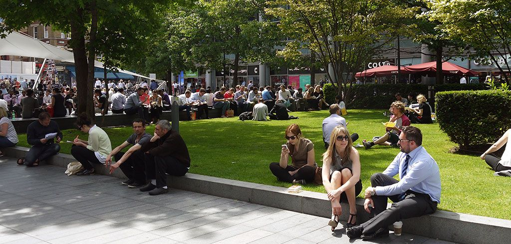 Townshend Landscape Architects - Projects - Bishops Square