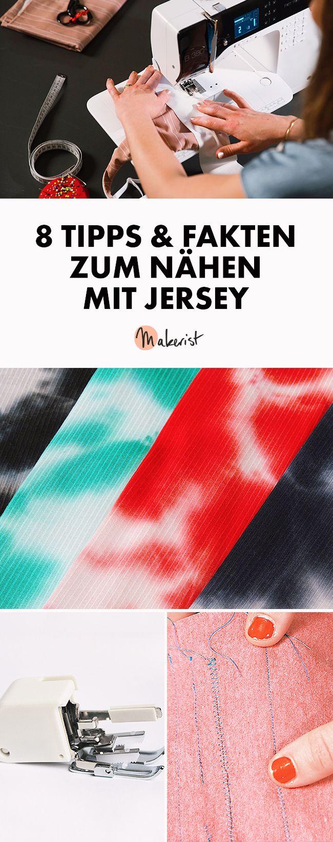 Photo of 8 Tipps und Fakten zum Nähen mit Jersey für Nähanfänger via Makerist.de #nä…