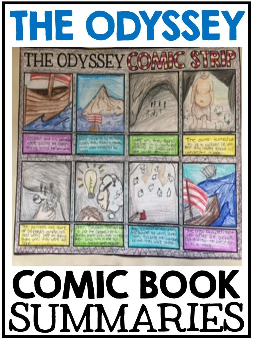 The Odyssey Teaching Ideas Creative Classroom Core Pinterest