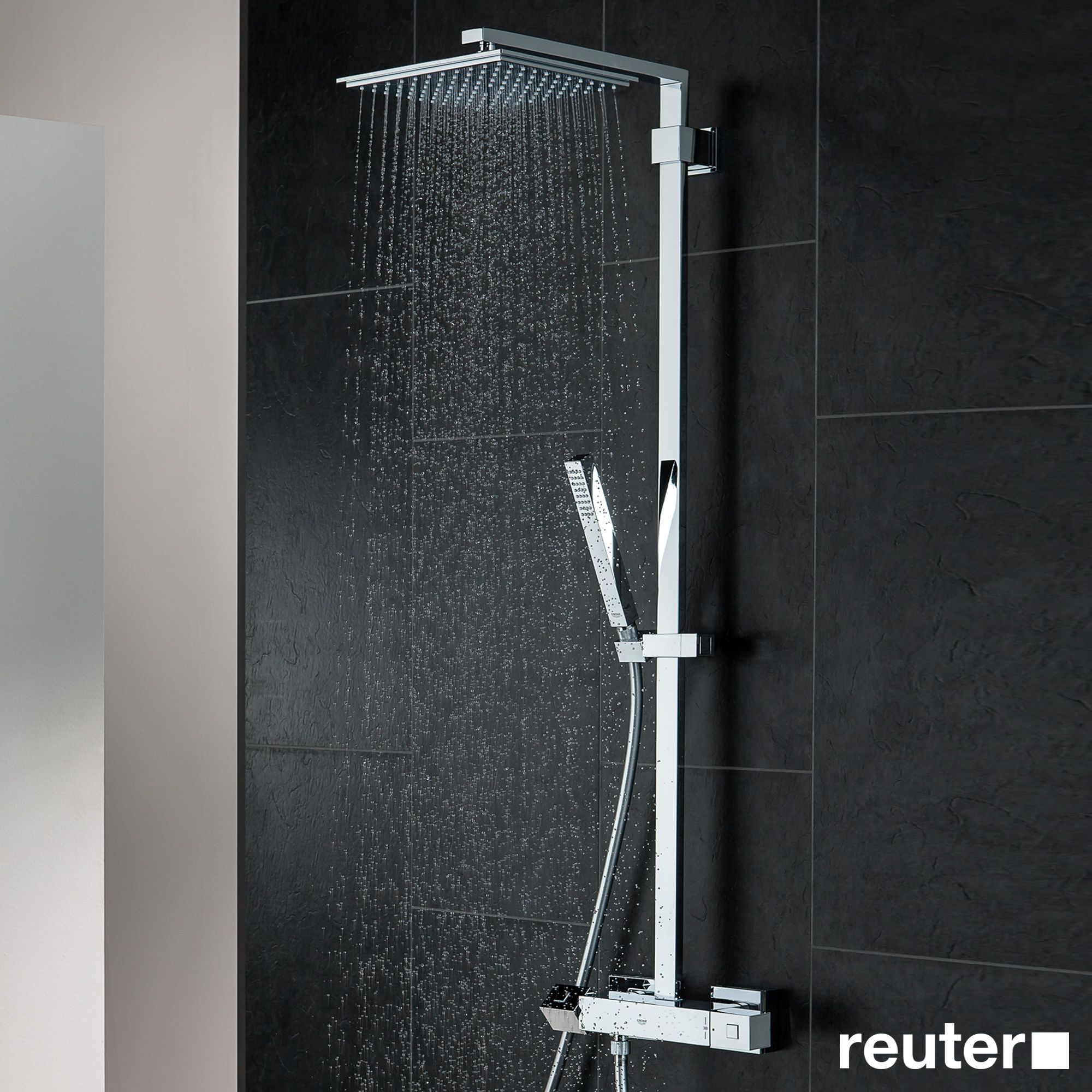 xxl du douche system euphoria grohe produit de shower photo colonne
