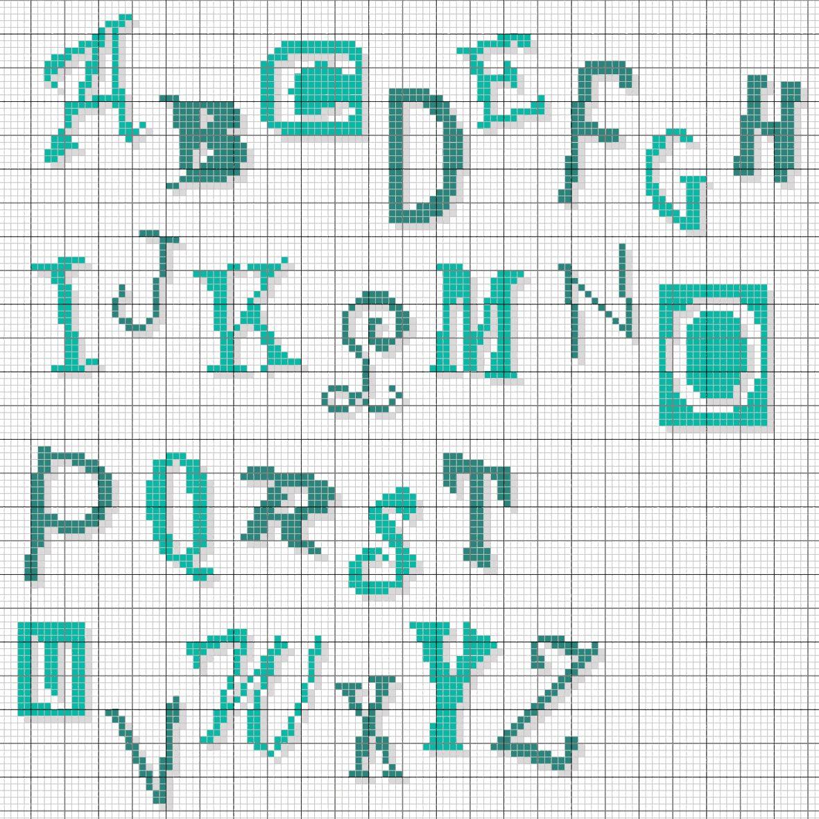 épinglé Par Stephanie Robertson Sur Cross Stitch Font