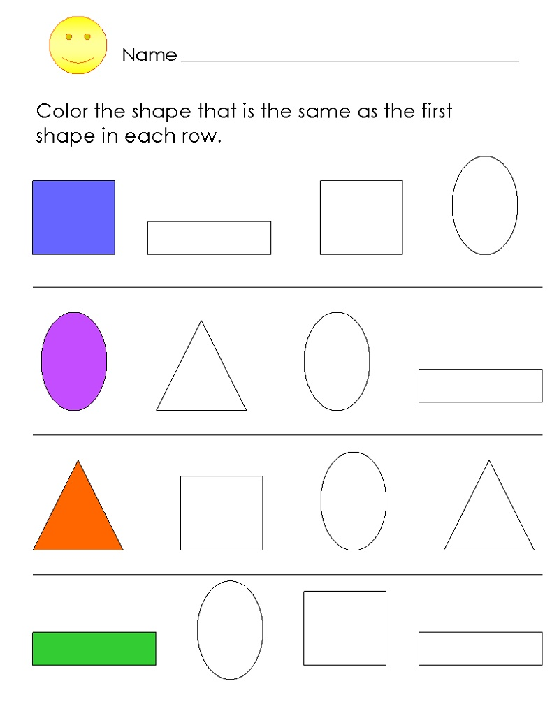 Colors Worksheets For Preschoolers Free Printables in 2020