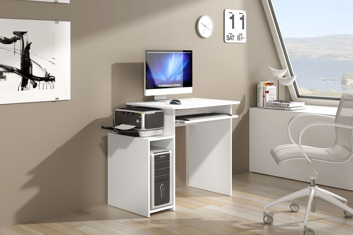 Vente ESPRIT LIVING 24123 Bureau Bureau informatique Blanc