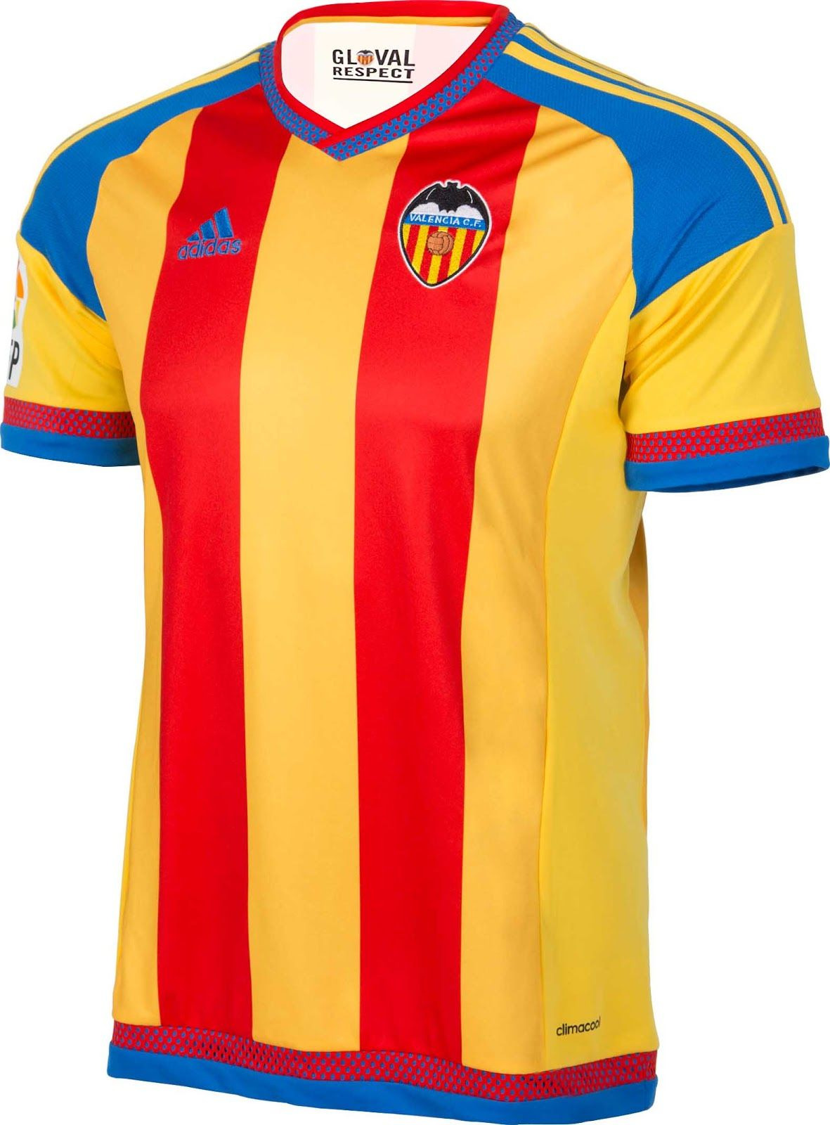 026faa725 Valencia CF (Spain) - 2015 2016 Adidas Away Shirt