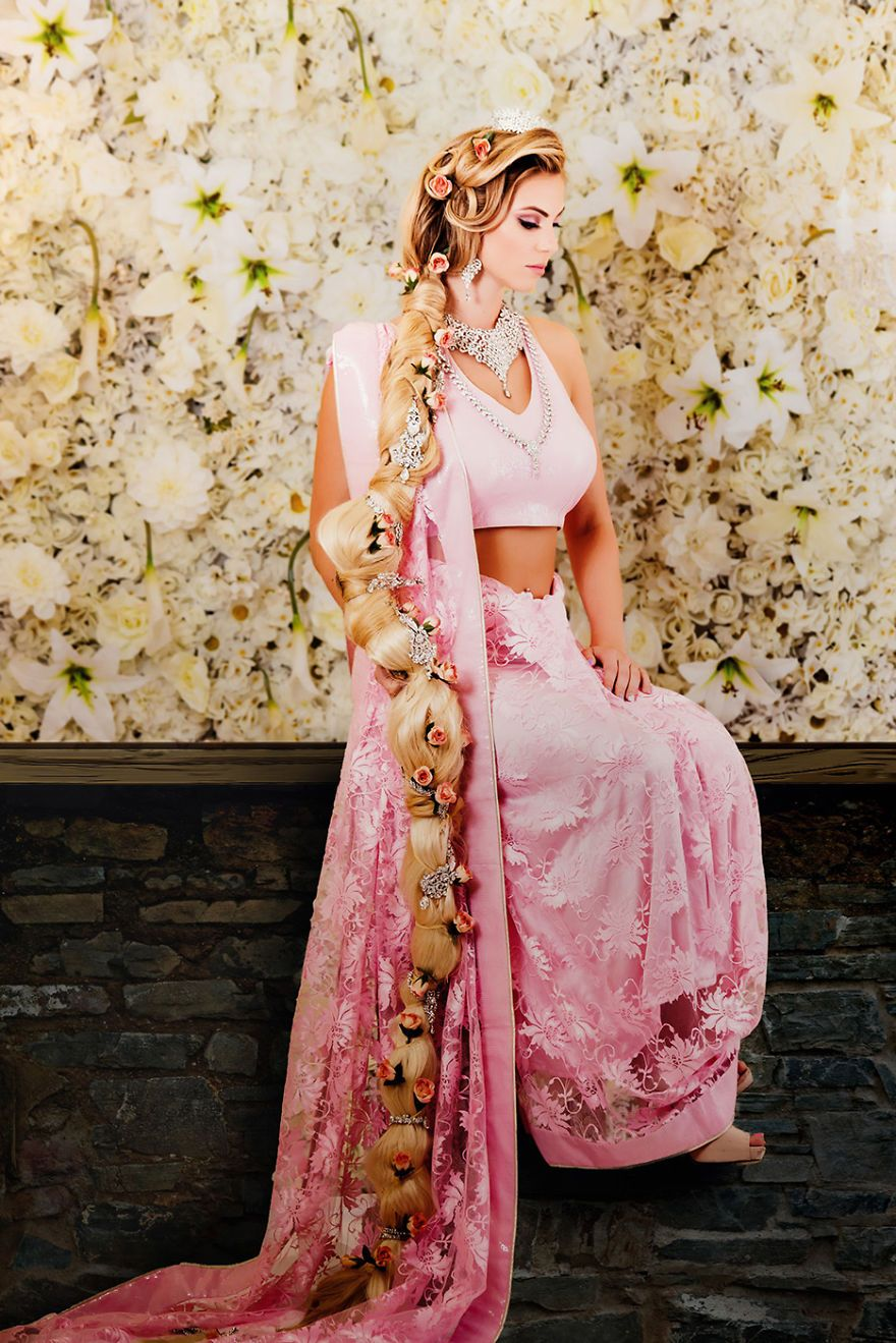 Rapunzel - Raiponce | Indian Disney Princesses | Pinterest ...