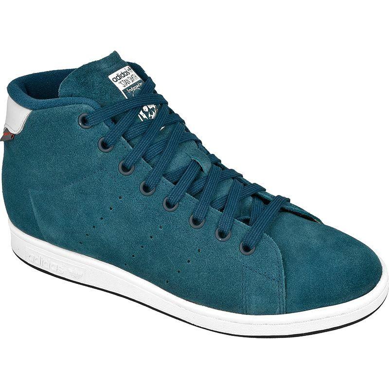 Buty Adidas Originals Stan Winter M S80499 Niebieskie Adidas Originals Adidas Top Sneakers