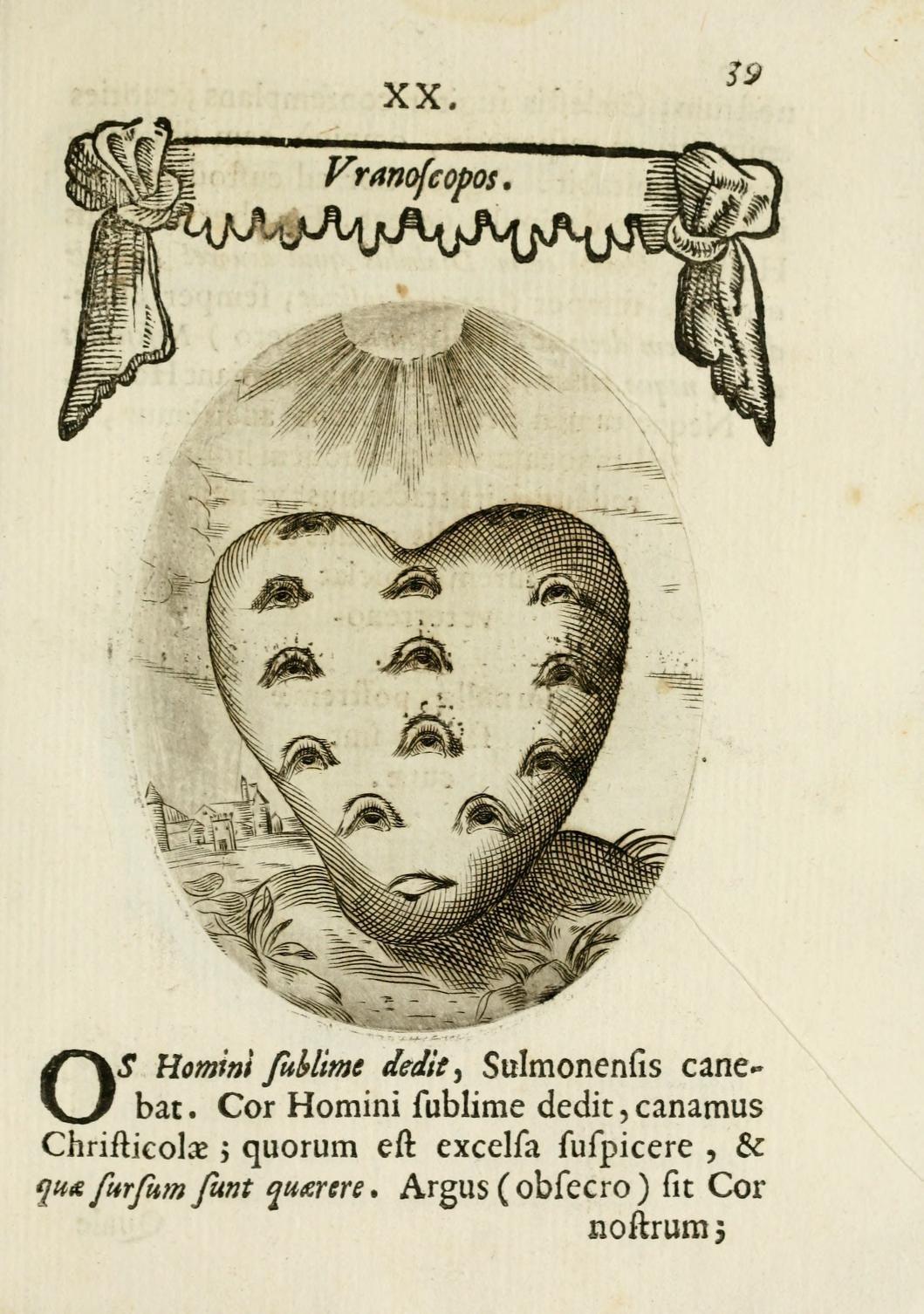 Francisci Ponae Cardiomorphoseos - 1645