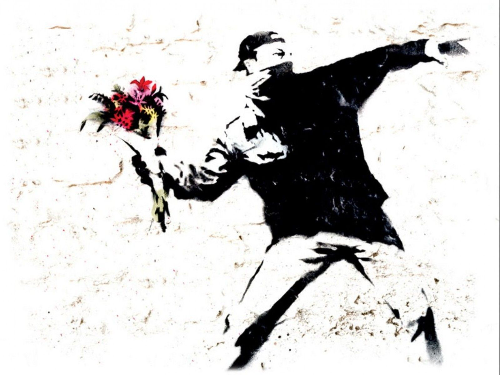 Banksy Hd Wallpaper: Image Detail For -Banksy Wallpaper, Wall Art
