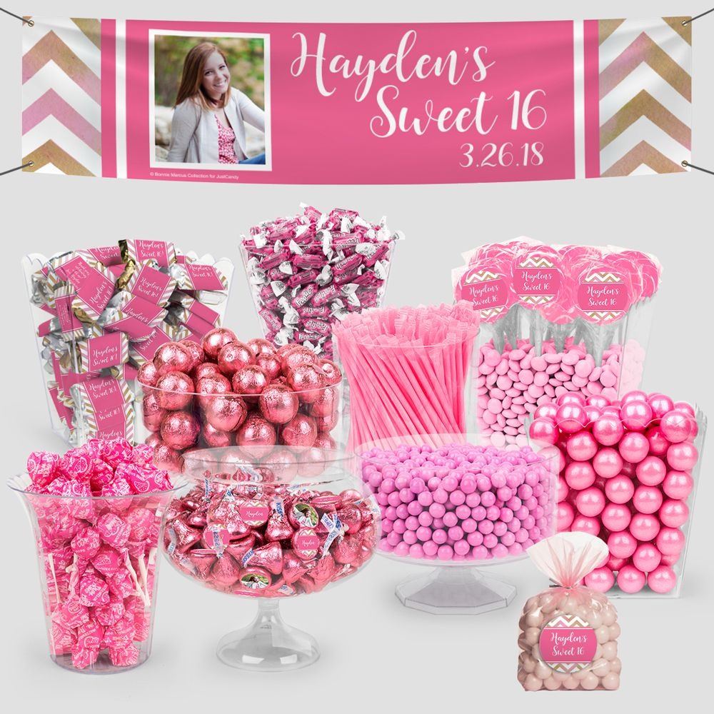 Sweet 16 Party Chocolate & Party Favors @ Just Candy (With