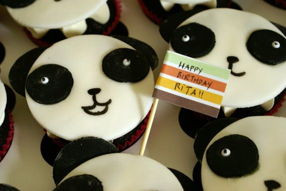 Cute Panda Cupcakes Food Drinks I Love Pinterest Panda