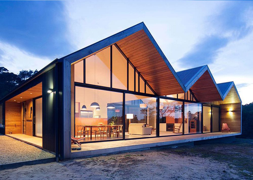 34 Contemporary Home Design Ideas Gable Roof Design Roof Design House Designs Exterior