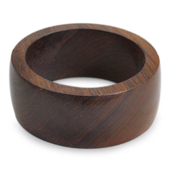 Novica Handmade Wood Bangle Bracelet From India Jewelry 23