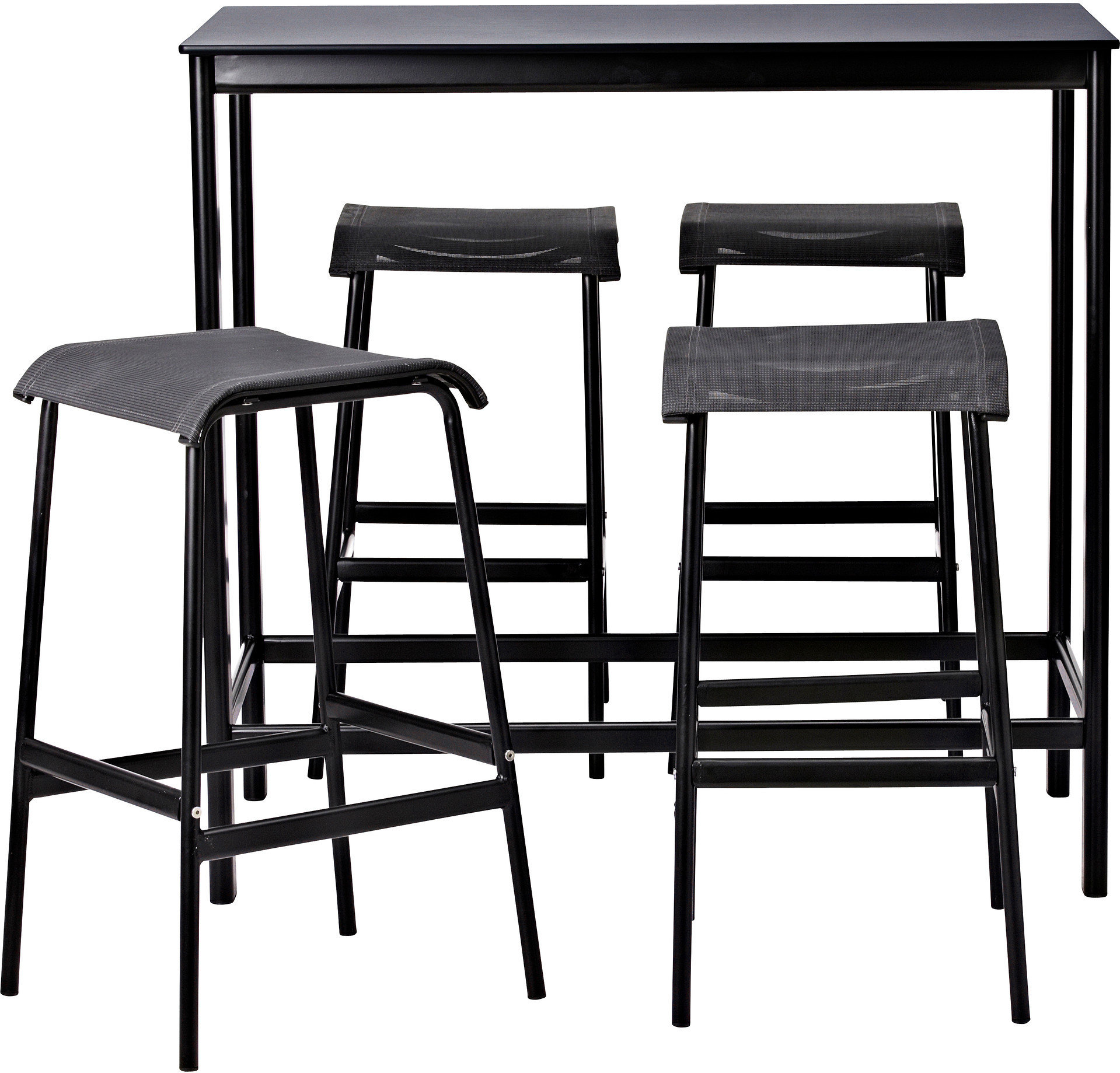Ikea #table #GARPEN #table #stools #IKEA GARPEN Bar table and 4 ...