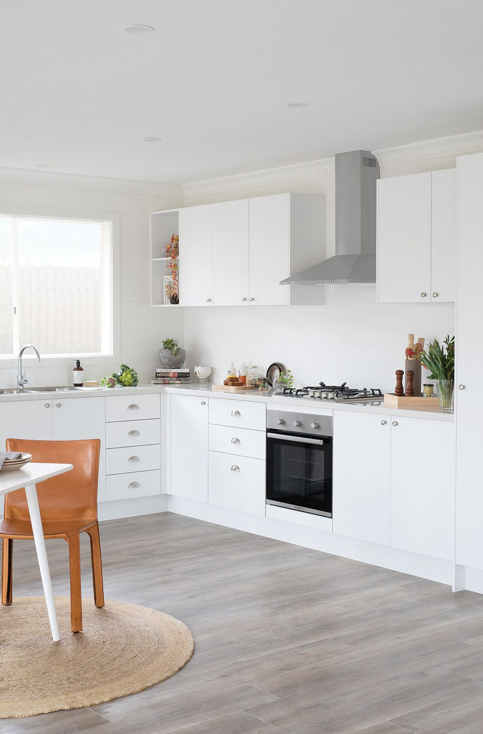 check out one of our favourite diy kitchens style seeker a classic white kitchen that is the on kaboodle kitchen white pepper id=46154