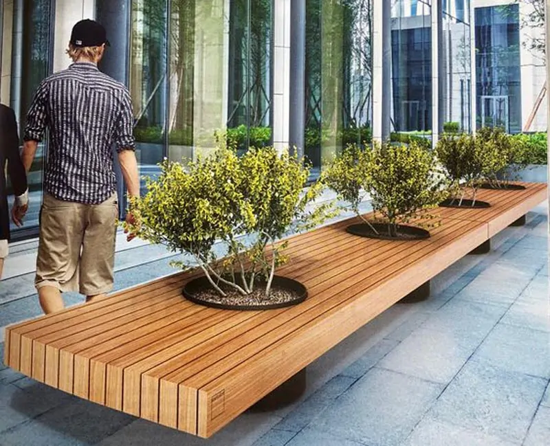 Reinterpreting Nature In Design 30 Urban Benches That You Instantly Want On Your Street Urban Furniture Bench Urban Furniture Design Urban Garden