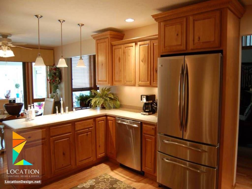 مطابخ خشب صغيرة 2018 2019 لوكشين ديزين نت Kitchen Remodel Small Cheap Kitchen Remodel Kitchen Design Small