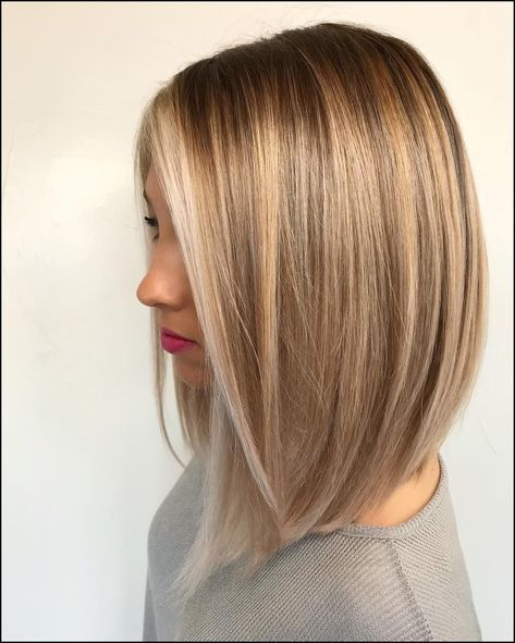 80 Sensational Medium Length Haircuts for Thick Hair | Balayage … #Hairstyles …