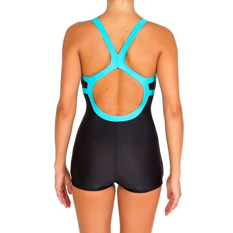 Bañadores Mujer Bikinis y bañadores - Bañador de natación Mujer Shorty Negro/azul 1P NABAIJI - Bikinis y bañadores