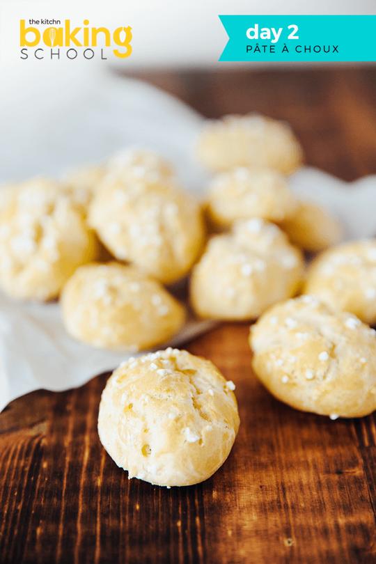 Baking School Day 2: Pâte à Choux | food | Baking school ...