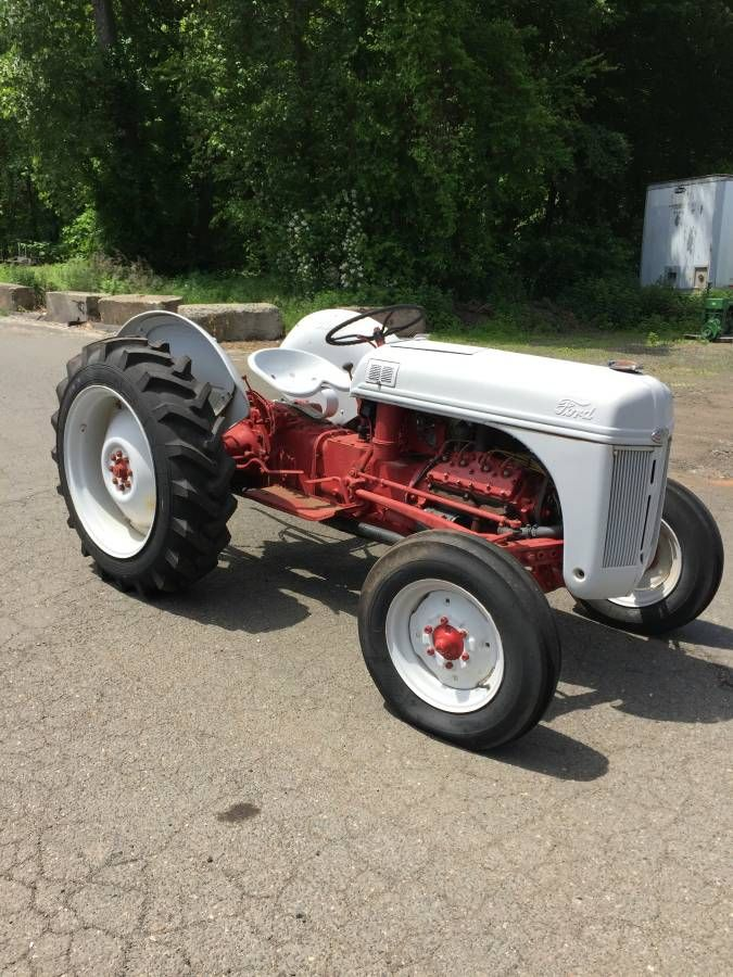 FORD 8N TRACTOR, 60 H.P. FLATHEAD V8 ENGINE, 4 SPEED ...