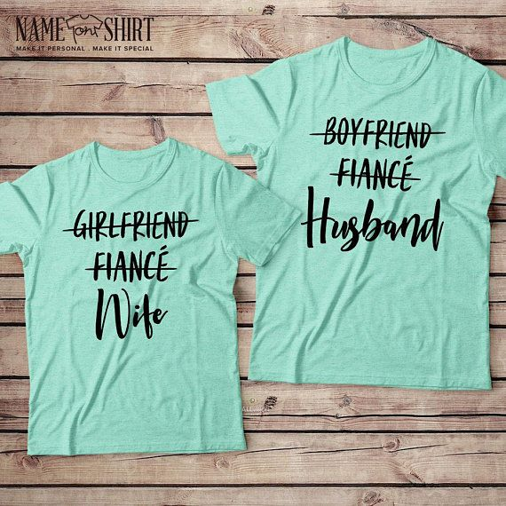 a593304a9d Honeymoon Shirts Wifey Hubby Shirts Newlywed Shirts Couple Shirts Just  Married His And Hers Shirts