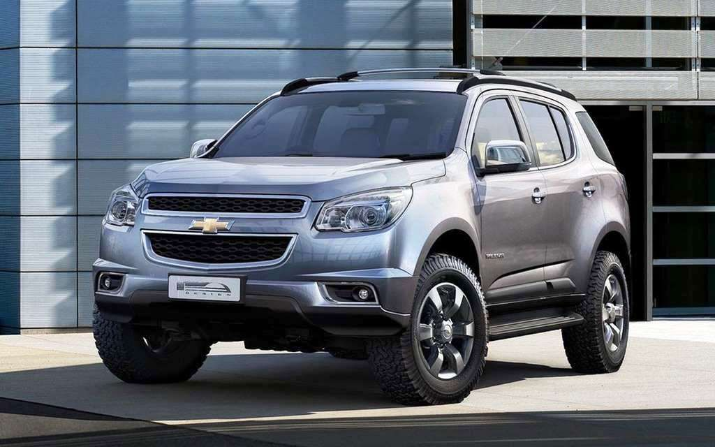 2015 Chevrolet Trailblazer Usa Rendered Chevrolet Trailblazer