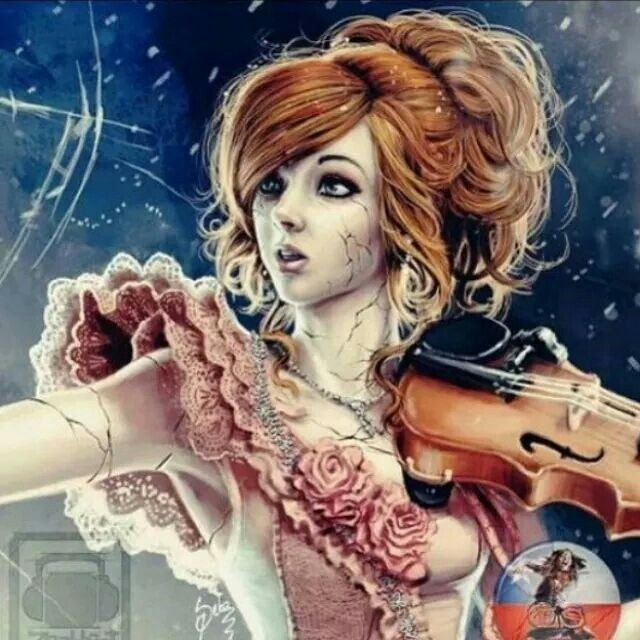 Lindsey Stirling by Zeablast <<Woooowww I thought that was a screenshot or something but no it's a brilliant work of art!