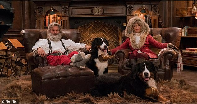 Kurt Russell and Goldie Hawn return for The Christmas