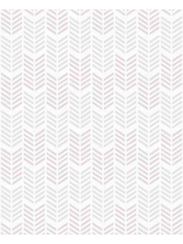 Papier peint oiti chevrons gris mauve graham brown - Papier peint graham brown ...