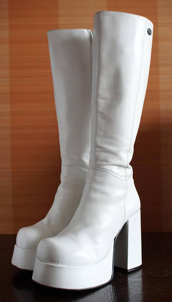24a8aff531bc BUFFALO T24400 CULT platform boots white 90 s Club Kid Grunge 90s 24400 t