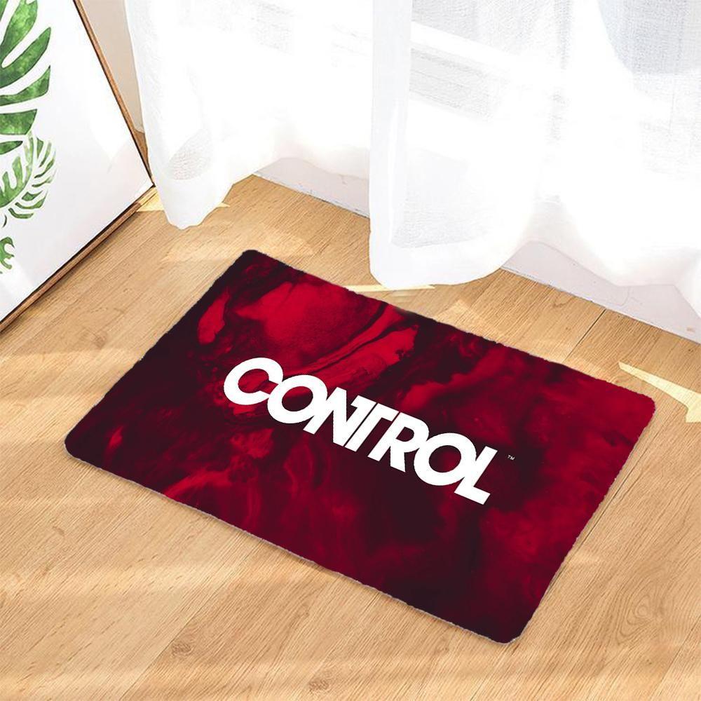 Jeux Video Control Rouge Tapis De Sol Exterieur Paillassons Tapis