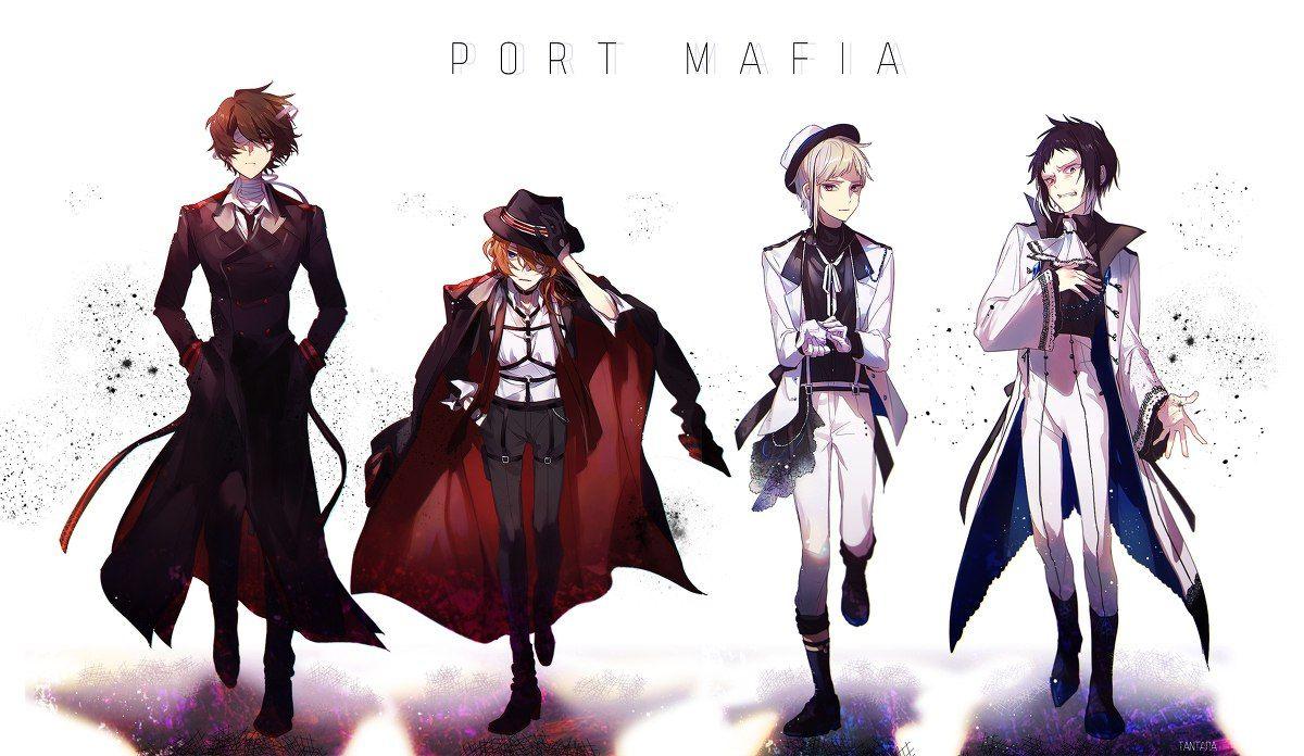 картинки с которой ацуши в портовой мафии процессе