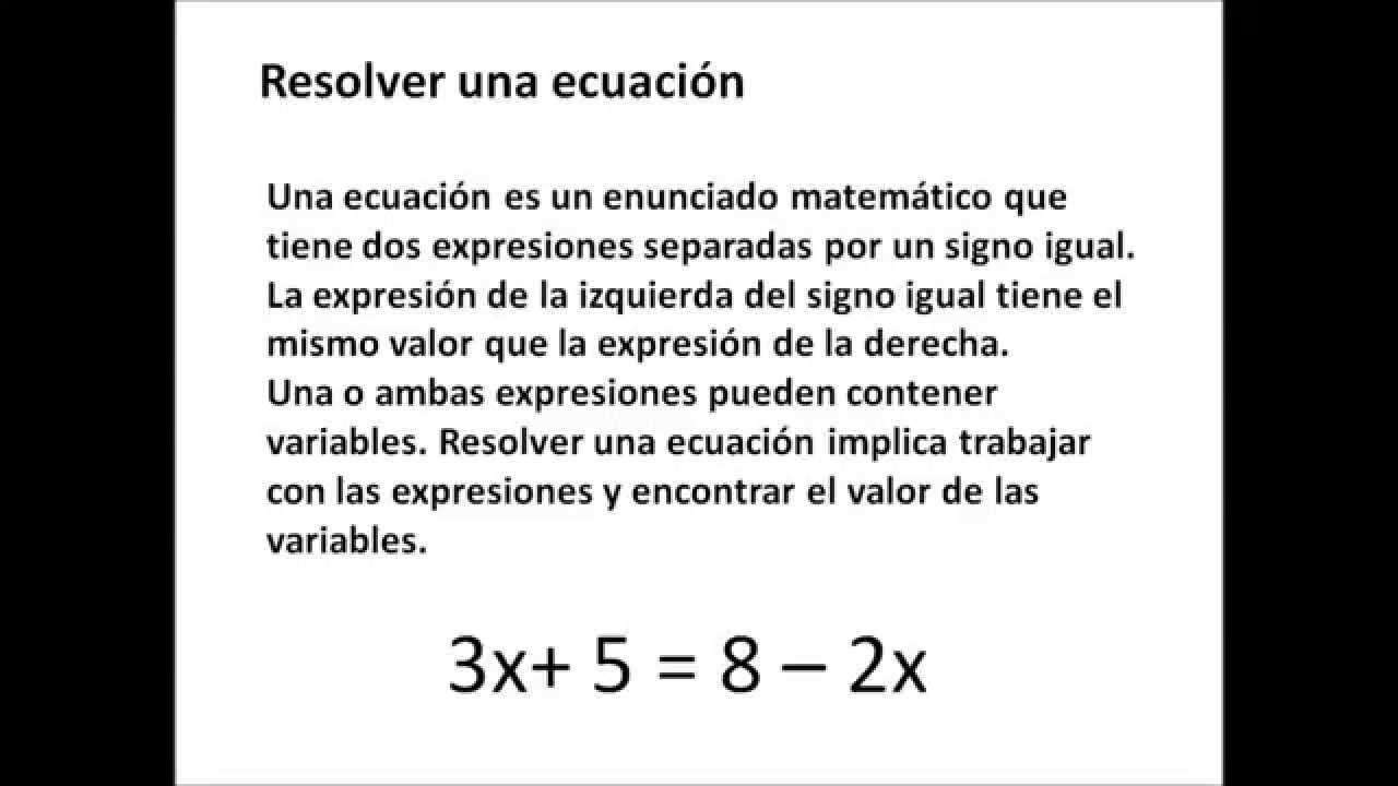 Excelente Escribir Ecuaciones Hoja De Trabajo Molde - hojas de ...