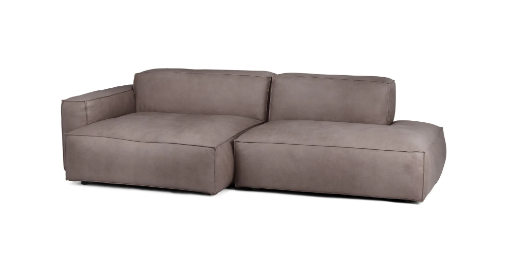 Solae Canyon Charcoal Left Sectional Article Modular Sectional