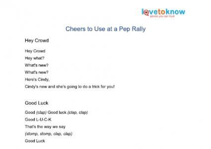 Easy- Cheers-for-Kids Click here Youth cheer Pinterest Cheer - cheerleading tryout score sheet