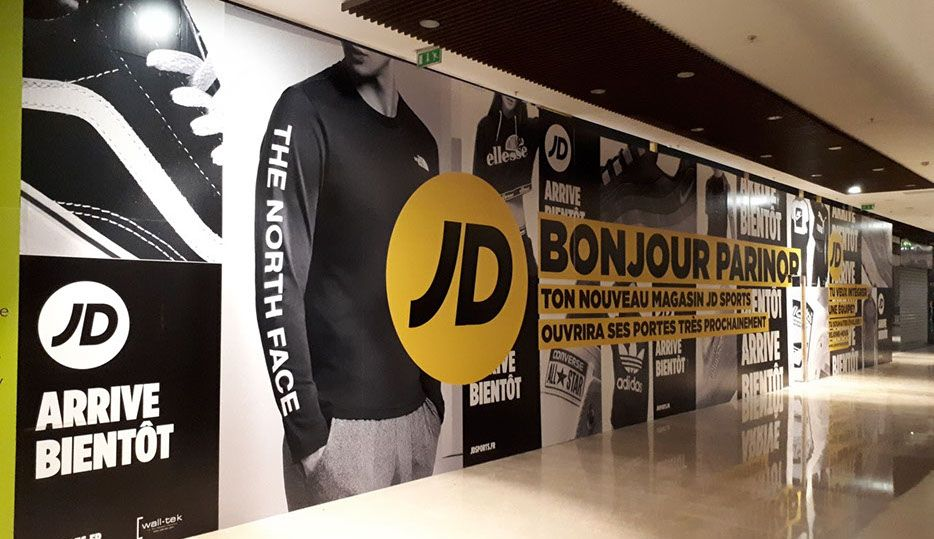 JD Sports Centre Commercial Carrefour Grand Vitrolles