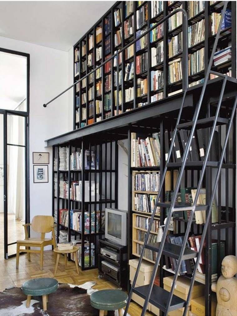 Full Wall Bookshelving Interiors I Storage Shelving