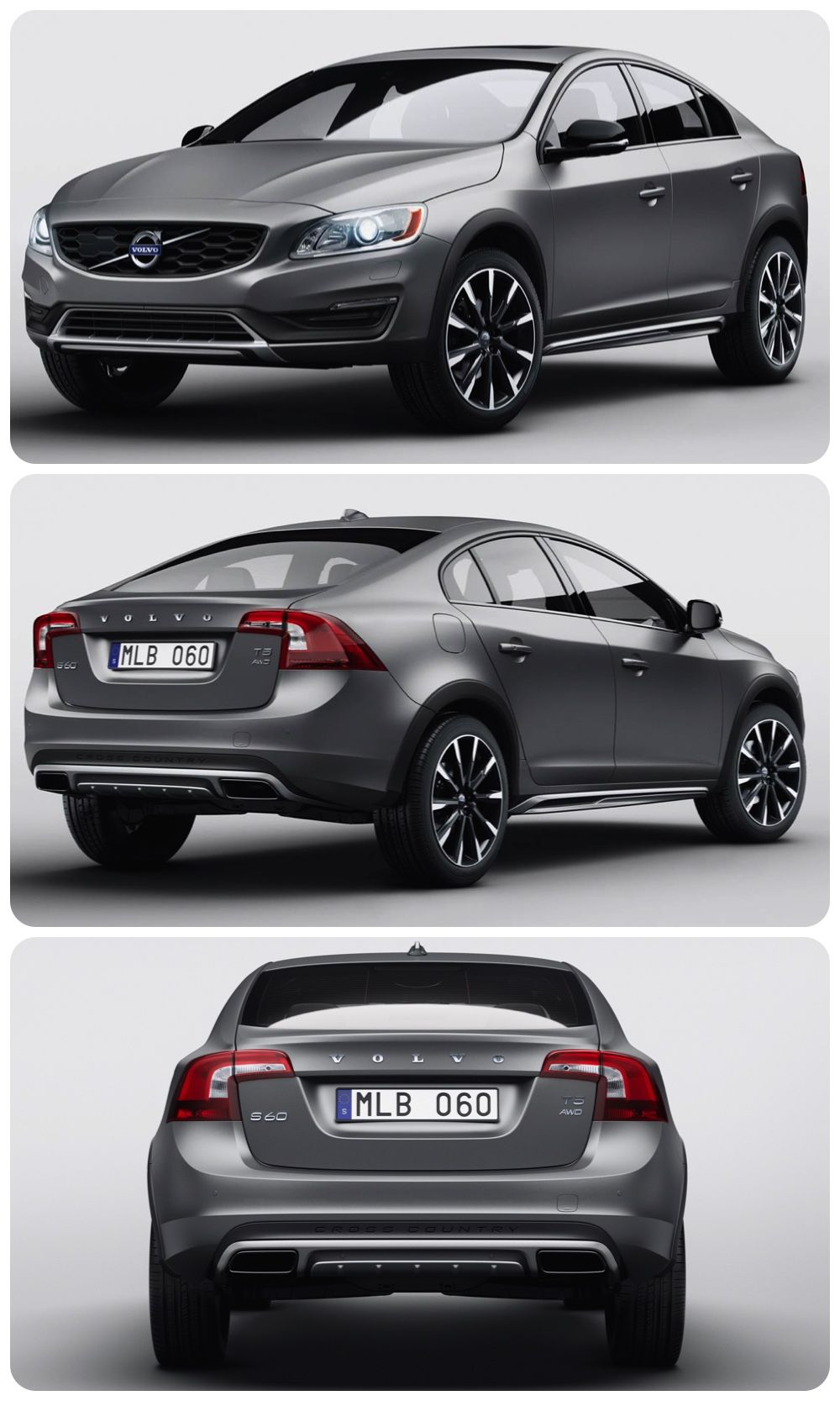 It Stacks Up Volvo S60 Cross Country New Lifestyle Oriented Volvo S60 Cross Country Another Glimpse Of The Future For Volvo Cars The Co Volvo Ford Otomobil