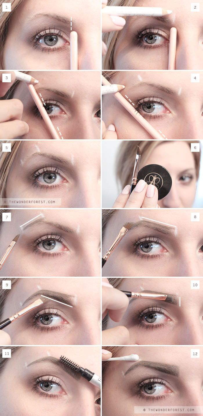 My New Perfect Brow Routine Eyebrow Tutorial Forest Design