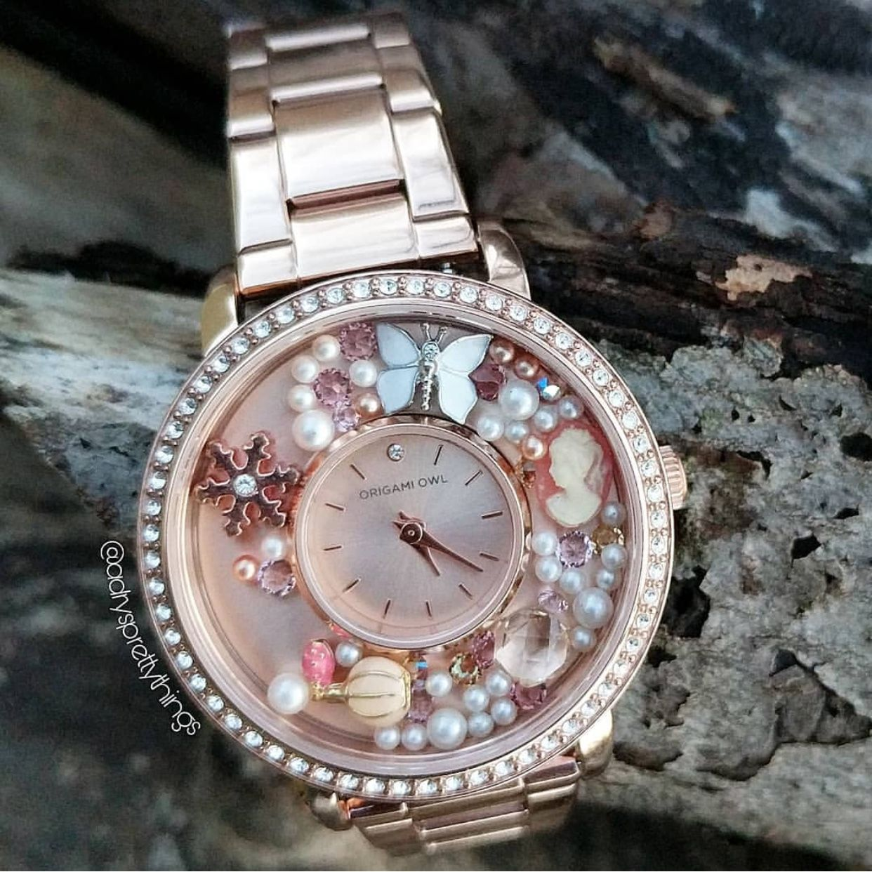 Origami Owl I Love How Beautiful This Rose Gold Watch Is